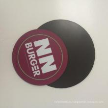 Etiqueta engomada formada círculo al aire libre del coche del imán del uso