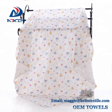 Super Soft 100% Organic cotton Muslin Swaddle Baby Blankets Perfect for any Baby Shower
