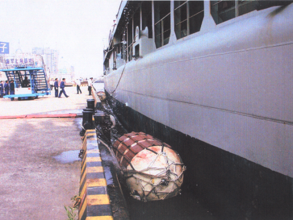 Navy Appointed Rubber Fenders
