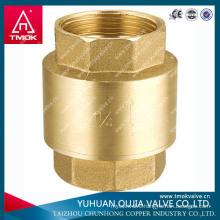 CW617 stainless steel water honeywell check valve with plastic core or brass core made in TAIZHOU OUJIA