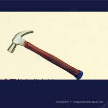 Marteau à griffes de type britannique avec poignée de grille