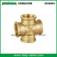 1/2′′ Equal ISO9001 Certified Quality Brass Cross (ZS-BF-7014)