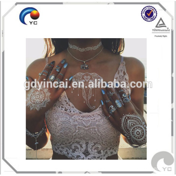 Dream catcher henna tattoo white temporary tattoo sticker with competitive price High quality henna stencils Mehndi style with competive price<<< Henna tattoo designs, temporary tattoos sticker<<< Intimate tattoo designs temporary tattoo sticker<<<