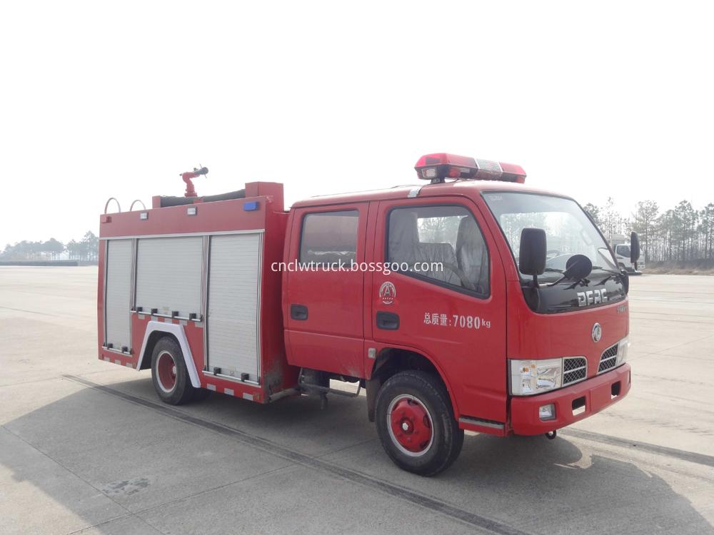 china new 3000l fire truck 5