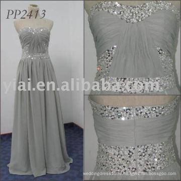 2011 бесплатная доставка высокое качество elgant последний платье 2011 PP2413