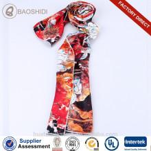 Brand designer mulheres cachecol de seda cachecol seda fábrica de seda