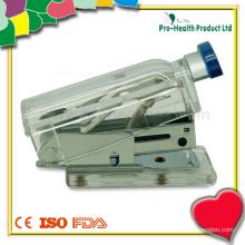 Рекламный пластиковый бутылочный пластиковый малый медицинский степлер