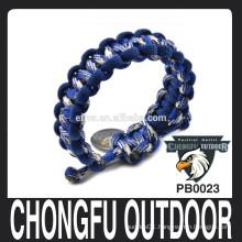 custom adjustable paracord bracelet