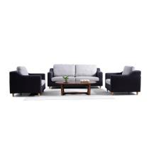 1 + 2 + 3 sofá de la sala de estar de tela