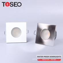 Inner door MR16/GU10 IP65 35W/50W/3W/5W/6W cutting 70MM recessed ceiling square led spot downlight
