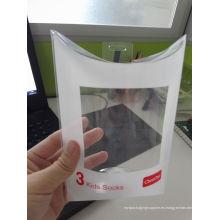 Personalizado impreso plástico transparente PP / PVC / PET almohada caja (paquete de forma de almohada)