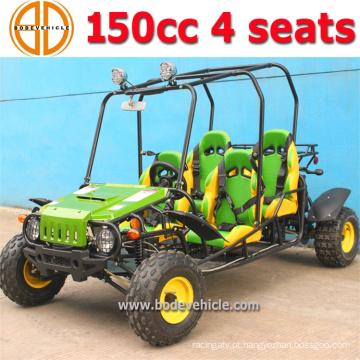 Bode novas crianças 150cc 4 lugares vai Kart para venda preço de fábrica