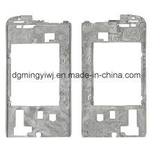 Kundenspezifische Magnesium Druckguss für Moble Phone Shell mit CNC-Bearbeitung Made in Guangdong