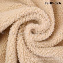 100% Polyester Faux Sherpa Fur Eshp-02A