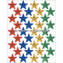 New design glitter face stickers with great price
