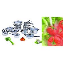15pcs conjunto de utensílios de cozinha de aço inoxidável
