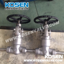 2500lb Pressure Seal Forged Steel Globe Valve F321