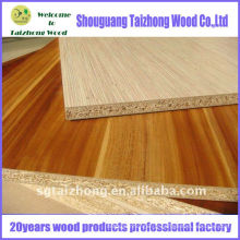 Panneaux de particules de mélamine et de grain de bois et de bois