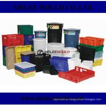 Caja de almacenamiento de plástico Crate Box Mould