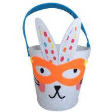 Easter Rogue rabbit pattern bucket