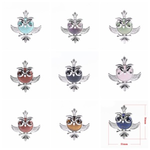 Women's Lucky Owl of Night Pendant Necklace and The Night Guardians Long Sweater Chain Owl Pendant Necklace Lovely Animal Pendan