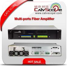 Alta potencia 1550nm 2u Multi-Ports Erbium Ytterbio Co-Doped Amplificador Óptico E / Ydfa