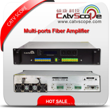 High Power 1550nm 2u Multi-Ports Erbium Ytterbium Co-Doped Optical Amplifier E / Ydfa