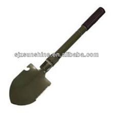 Folding shovel for military and Fortifications use