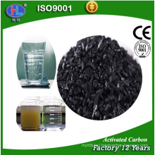 Coconut activated carbon in water treatment chemicals product for sale