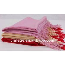 einfache Wolle Schals Krawatten