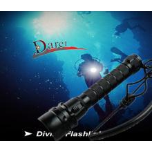 CREE Xml-T6 LED Super wasserdichte Tauch-Taschenlampe