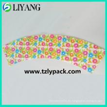 Diseño Ampliado de Flor Pequeña, Iml para Plástico