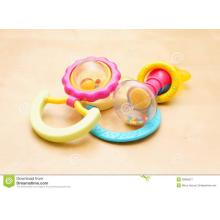 Piezas de plástico para bebé movibles