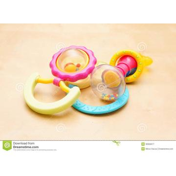 Plastic parts for baby moveable