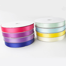 1 Inch Polyester Double Sided Satin Ribbon for Decoration
