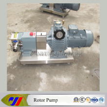 Stainless Steel Pudding Rotor Pump Tomato Sauce Rotary Lobe Pump