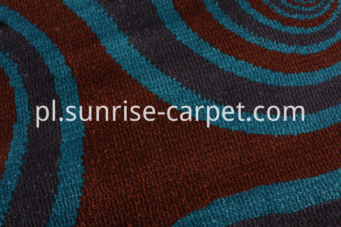Microfiber Rug with Design