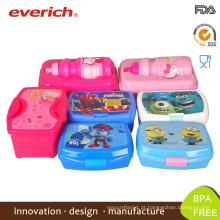 Everich Eco-friendly Custom BPA Free Plastic Bento Box