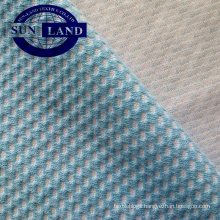 polyester cotton honeycomb mesh fabric for garment