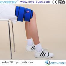 envoltura cómoda y fría en caliente para los esguinces musculares de la pierna y las tensiones inquietas