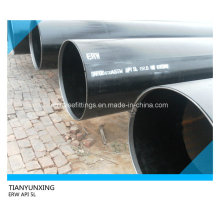 Tuyau d'acier au carbone soudé par SRE du pipeline API 5L