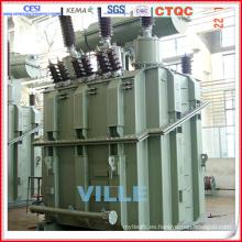 66kv Transformador de horno de hierro fundido para la industria siderúrgica