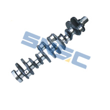 Suku cadang CUMMINS 3929037 Crankshaft 6BT5.9