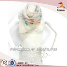 Bufanda de cachemira de la luz tejida estilo de la manera