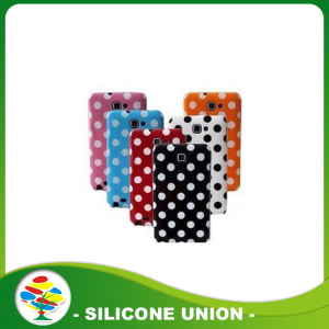 Silicone cellphone cover for iphone 6 plus