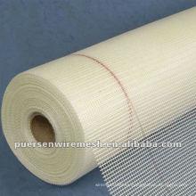 Venta caliente de malla de fibra de vidrio ignífugo de malla de 2 mm * 2 mm