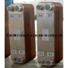 Intercambiadores de calor de placas soldadas para refrigeración por agua