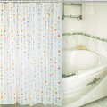 Hookless Printing Fabric Design PEVA Shower Curtain