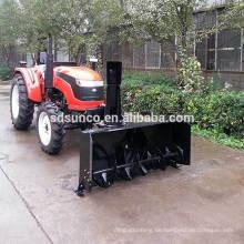 Traktor Schneefräse implementieren