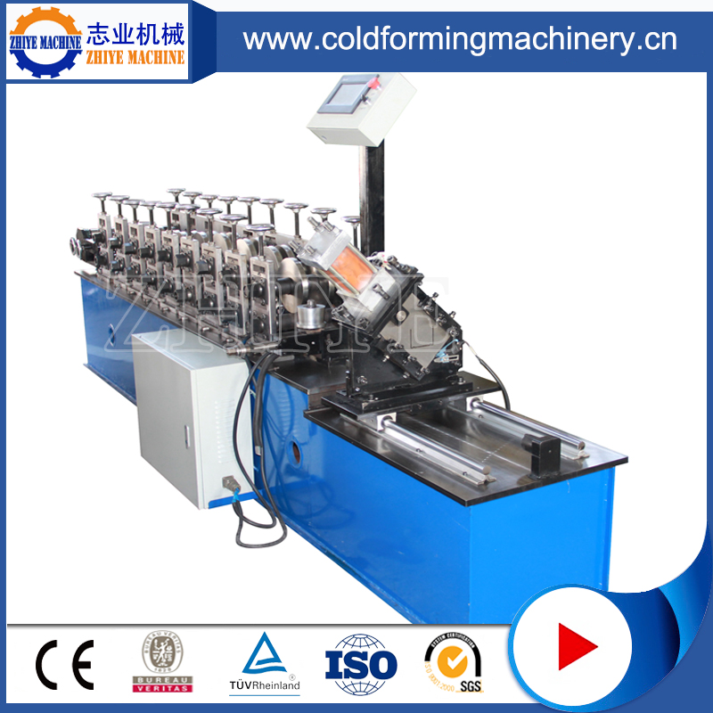 High-speed decorative metal stud forming machine
